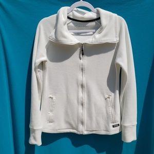 Calvin Klein Performance White Jacket Size Small